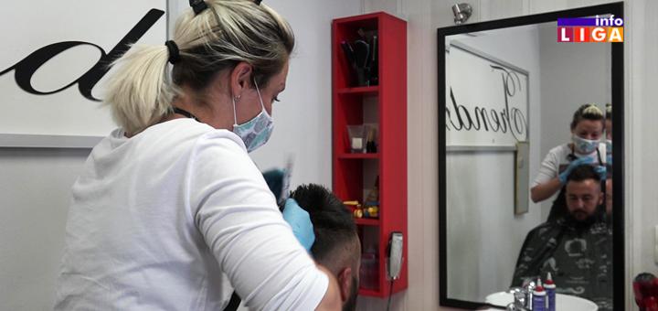 """IL-Frizerski-saloni-u-doba-korone- Počeli sa radom frizerski saloni: """"Sada nam je mnogo lakše i lepše"""" (VIDEO)"""