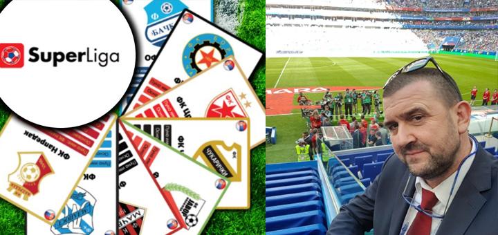 Drugi mandat: Lazović na čelu Zajednice Super lige i Prve lige Srbije još četiri godine