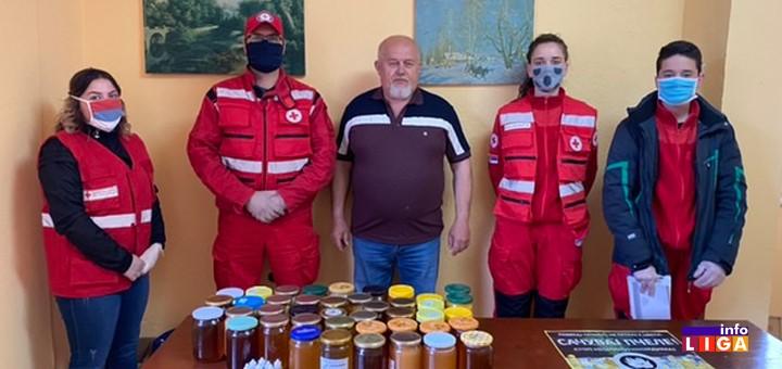 il-pcelari-i-crveni-krst Udruženje pčelara iz Ivanjice doniralo 100 kilograma meda sugrađanima