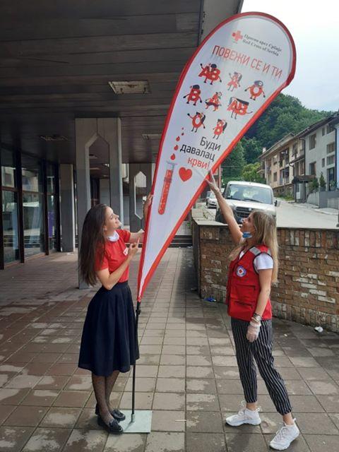 1 Uspešno realizovana akcija dobrovoljnog davanja krvi na Vidovdan