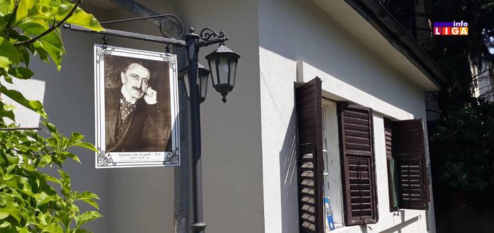Ispred Nušićeve kuće postavljena spomen tabla (FOTO)