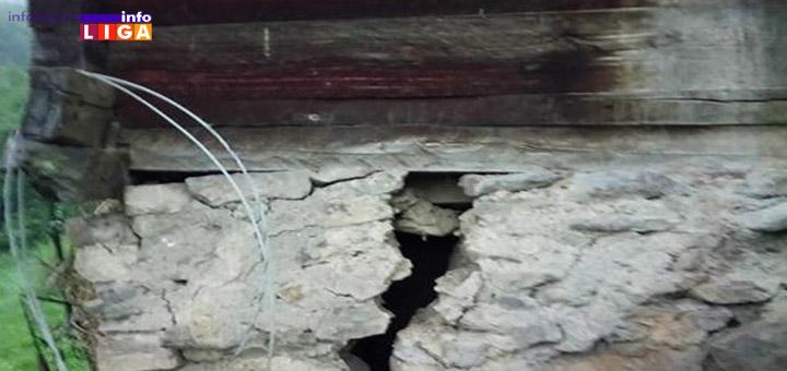 IL-Deda-Bogomir-Vucak-kuca ''Nemam gde da se vratim!'' Deda Bogomiru iz Vučaka klizište potkopalo kuću
