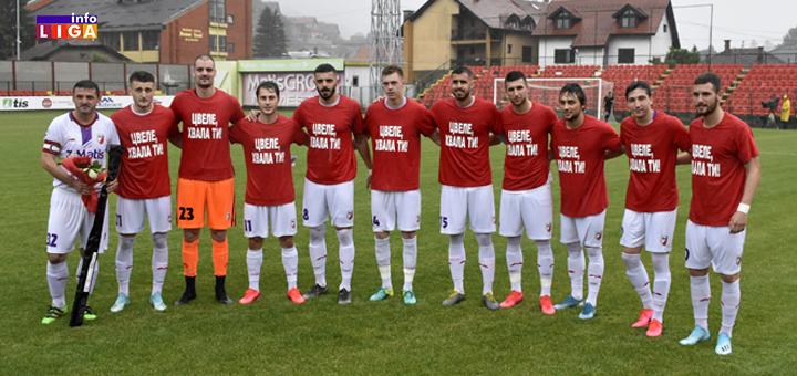 Fudbaleri Javor Matisa pesmom ispratili Ivana Cvetkovića (VIDEO)