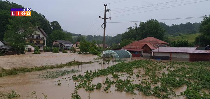 IL-poplava-Lucani- Obilne padavine prave probleme: Poplavljeno nekoliko domaćinstava u Lučanima (FOTO)