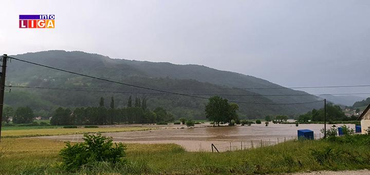 IL-poplava-Lucani-5 Obilne padavine prave probleme: Poplavljeno nekoliko domaćinstava u Lučanima (FOTO)