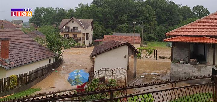 IL-poplava-Lucani-6 Obilne padavine prave probleme: Poplavljeno nekoliko domaćinstava u Lučanima (FOTO)
