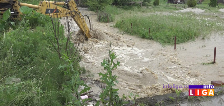 IL-poplave Ivanjica : Vode neće biti dok ne opadne nivo Moravice