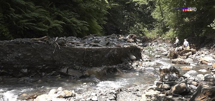 """Il-Osonicki-put-2 Meštani ivanjičkih sela u suzama : """"Duša nas boli, reka nam je odnela život"""" (VIDEO)"""