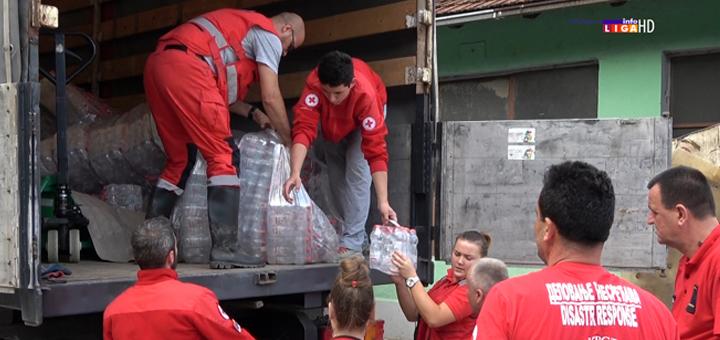 il-Crveni-Krst-donacija-vode-poplave-2020 Puzović obišao Ivanjicu  -  Nedimović i Crveni krst Srbije donirali vodu (VIDEO)