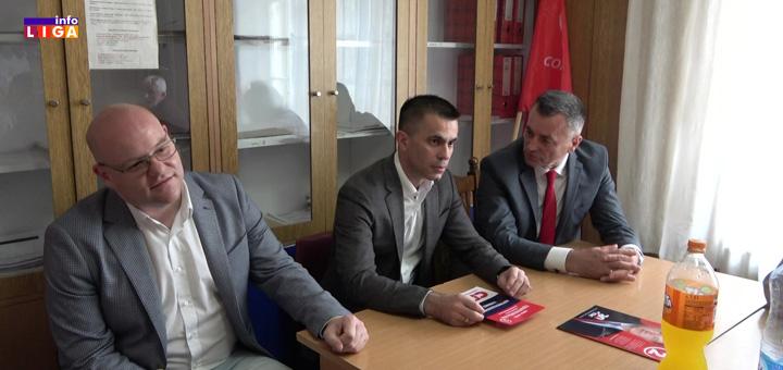 il-sps Miličević, Vukić i Braunović posetili ivanjički SPS u znak podrške (VIDEO)