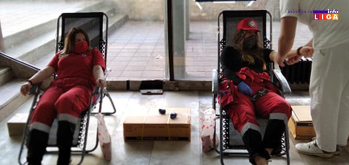 IL-CK-4 Volonteri Crvenog krsta Ivanjica pružali pomoć 6 687 sati (FOTO)