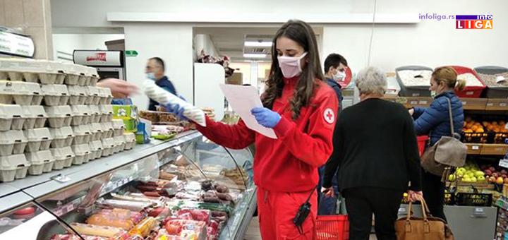 IL-CK-5 Volonteri Crvenog krsta Ivanjica pružali pomoć 6 687 sati (FOTO)