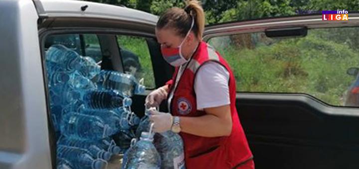 IL-CK-8 Volonteri Crvenog krsta Ivanjica pružali pomoć 6 687 sati (FOTO)