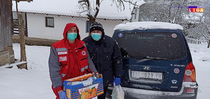 IL-Ck-9 Volonteri Crvenog krsta Ivanjica pružali pomoć 6 687 sati (FOTO)
