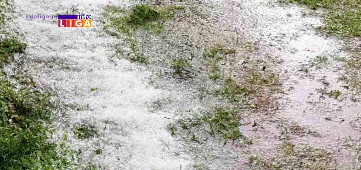 IL-Grad-Kovilje Nevreme u Ivanjici  - Grad ubio Erčege i na desetine sela (VIDEO)