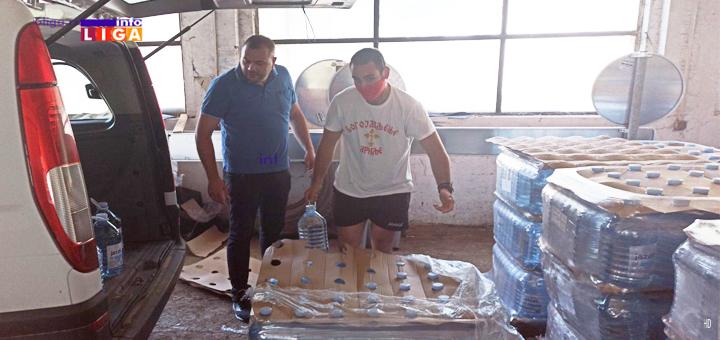 IL-Mitrovic-voda NIS donirao Ivanjičanima vodu za piće