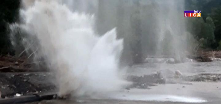 IL-pucanje-cevi- Nova havarija na cevovodu - radovi se nastavljaju i tokom noći (VIDEO)