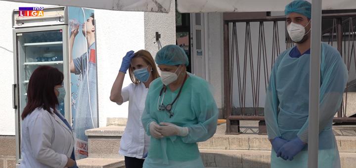 """il-covid-ambulanta-2 Ivanjički lekari: """"Naporno jeste, ali izdržavamo"""" (VIDEO)"""