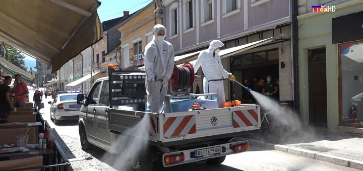 il-dezinfekcija-1 Dezinfekcija javnih površina i ustanova u Ivanjici (VIDEO)