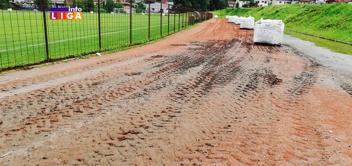 Rekonstrukcija atletske staze u Ivanjici