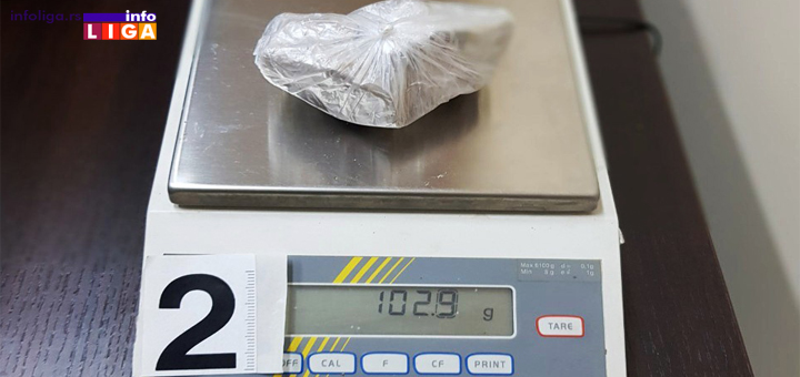 IL-Heronin-droga Uhapšen muškarac kod koga je pronađen herion