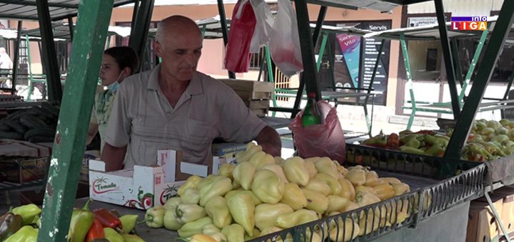 """IL-Ivanjicka-pijaca-14.08.2020 Ivanjička pijaca : """"Nekada sam prodavao 100 kutija paprike dnevno, a danas..."""" (VIDEO)"""