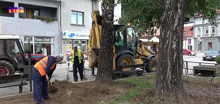 Il-Uredjenje-parka-zeleni-venac- Uređenje trga na samom ulazu u Ivanjicu