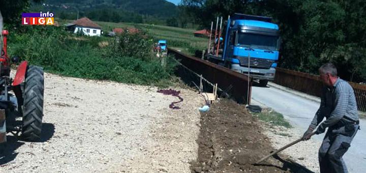 IL-Most-Milovici-1- Obezbeđen most u Milovićima zajedničkom akcijom meštana i lokalne samouprave (FOTO)