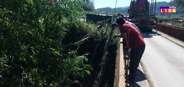 IL-Most-Milovici-6 Obezbeđen most u Milovićima zajedničkom akcijom meštana i lokalne samouprave (FOTO)