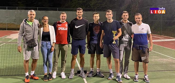 Nagrade za najbolje na teniskom turniru u Ivanjici