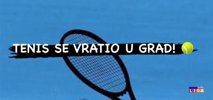 il-tenis Turnir ''Tenis se vratio u grad 2020.'' u Ivanjici