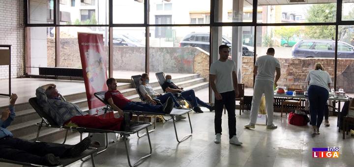IL-Akcija-davanja-krvi-1 Uspešno realizovana redovna akcija dobrovoljnog davanja krvi