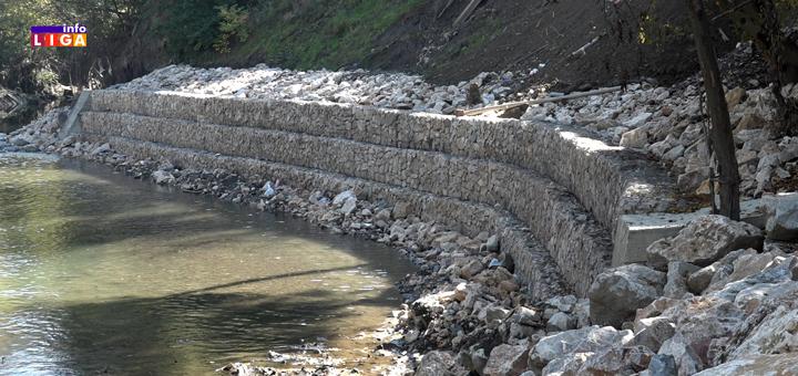 IL-Potporni-zid-Lucka-reka- Osam miliona za prvu sanaciju obale reke Moravice (VIDEO)