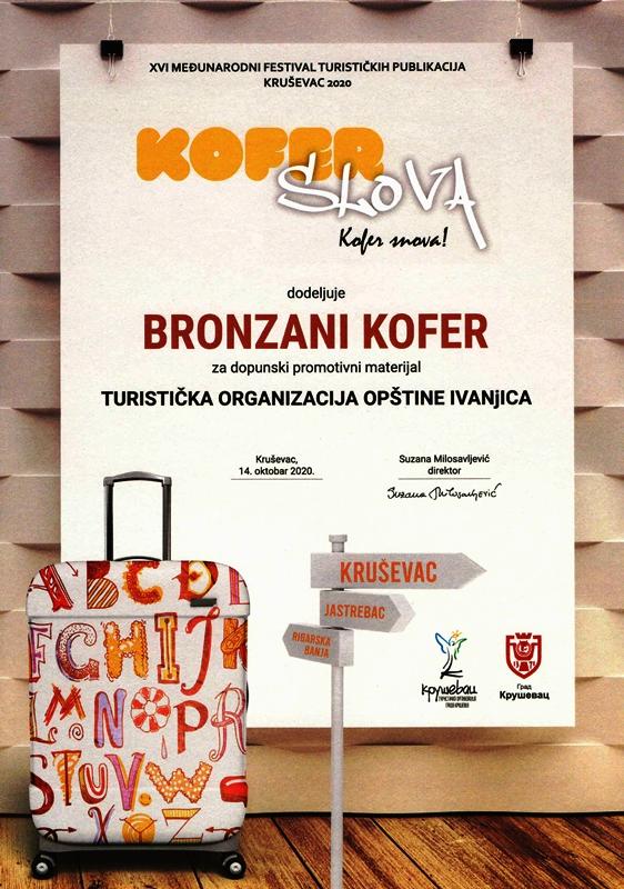 diploma-2 Tri nagrade za promotivni materijal Nušićijade