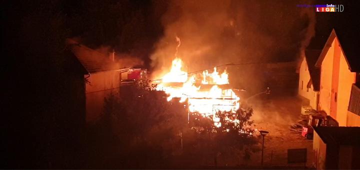 il-pozar- Veliki požar u Ivanjici (VIDEO)