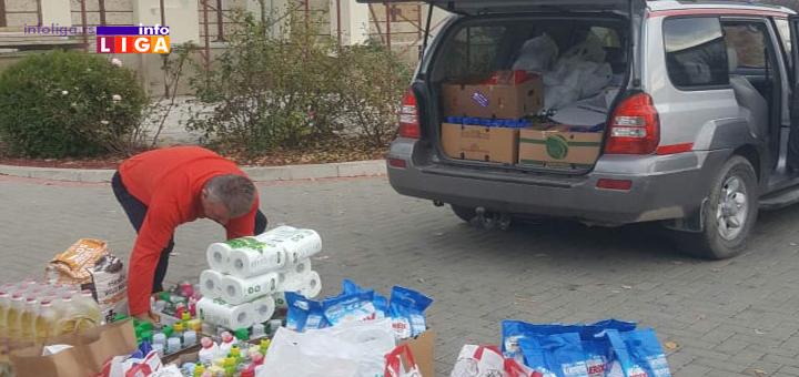 IL-Humanitarna-akcija-dva Dobri Samarjanin sa paketima pomoći na putu za jug naše zemlje