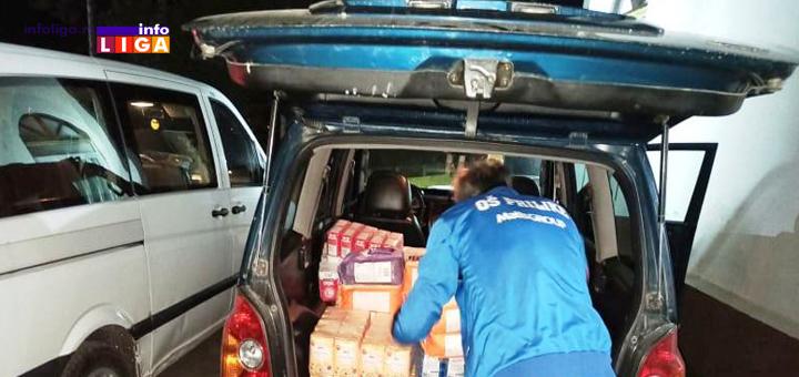 IL-Humanitarna-akcija-tri Dobri Samarjanin sa paketima pomoći na putu za jug naše zemlje