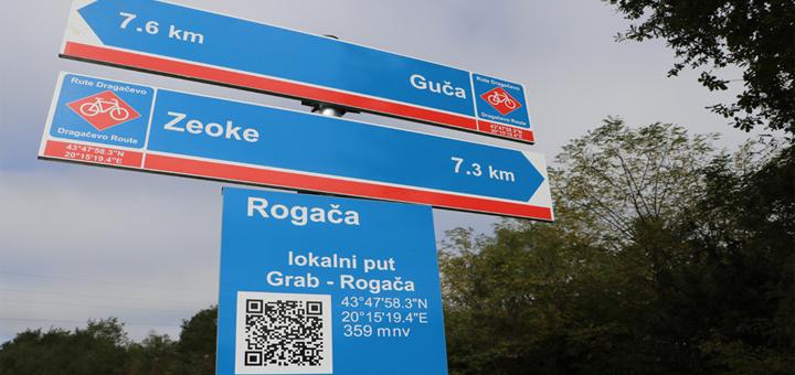 IL-Lucani-biciklisticka-signalizacija Biciklistička signalizacija širom Dragačeva