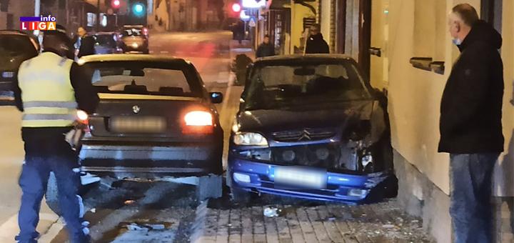 IL-Saboracajna-nezgoda-1- Saobraćajna nezgoda u ulici Miće Matović u Ivanjici