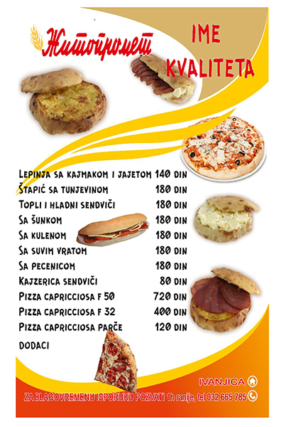 IL-zitko-3 NOVO!!! Žitopromet Ivanjica dostavlja pice, lepinje i sendviče na kućnu adresu!