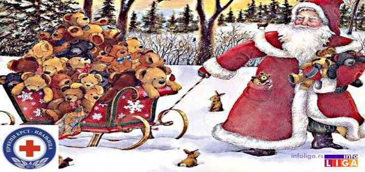 IL-Cestitka-Deda-Mraz-1 Donirajte za akciju Crvenog krsta  ''Jedan paketić - mnogo ljubavi''