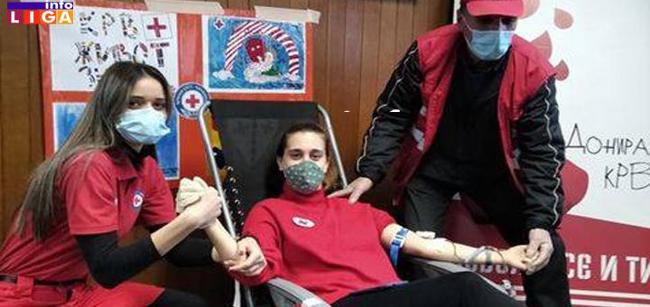 IL-DDK-1 Akcija  dobrovoljnog davanja krvi u Ivanjici