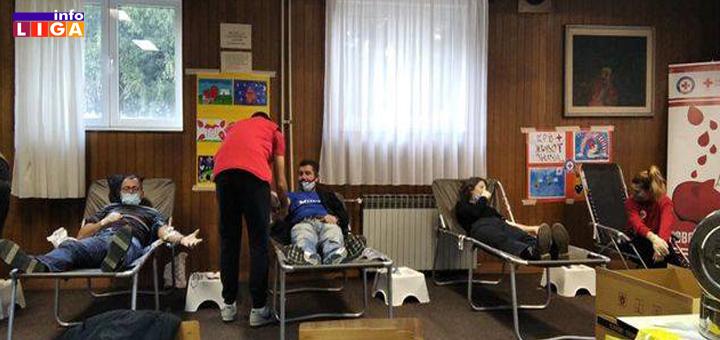IL-DDK Uspešno realizovana akcija dobrovoljnog davanja krvi