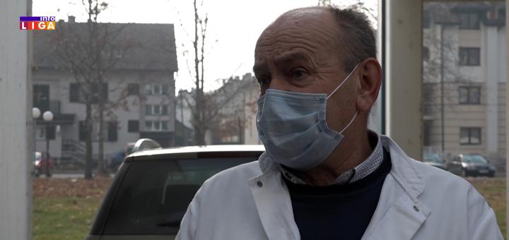 il-Milorad-Dramicanin-covid-ambulanta- Procena struke: Oko 8 000 Ivanjičana ima koronu (VIDEO)