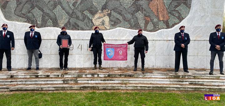 il-zastava-1 Zastava 63. Padobranske brigade na putu oko sveta- Danas stigla u Ivanjicu (VIDEO)