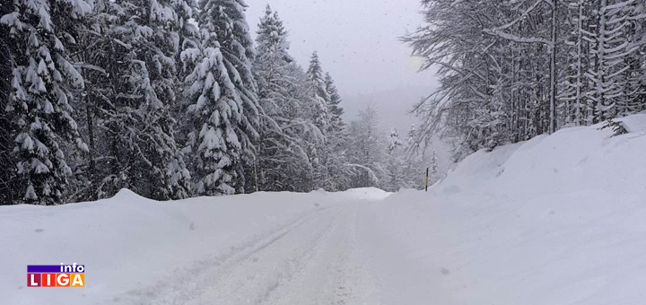 IL-Sneg-Golija-2021-putevi- Sneg u višim predelima Ivanjice do pola metra (FOTO)