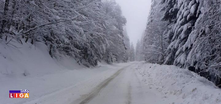 IL-Sneg-Golija-2021 Sneg u višim predelima Ivanjice do pola metra (FOTO)