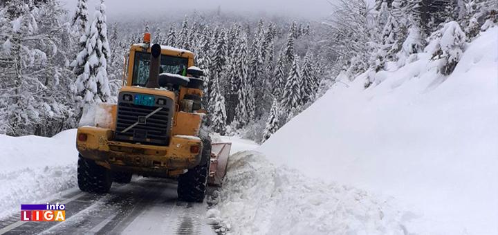 IL-Sneg-Golija-ciscenje-naslovna- Sneg u višim predelima Ivanjice do pola metra (FOTO)