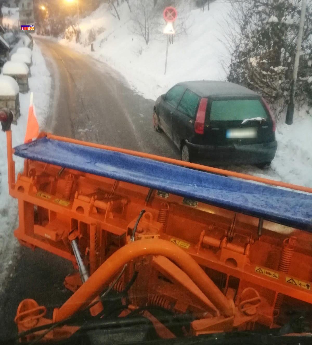 il-cistac-jkp1 Nepropisno parkiranje otežava rad zimskim službama (FOTO)