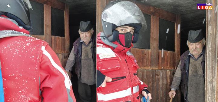 il-deda-Branislav Ivanjička sela okovana snegom- Branislav pet dana nije mogao da izađe iz kuće